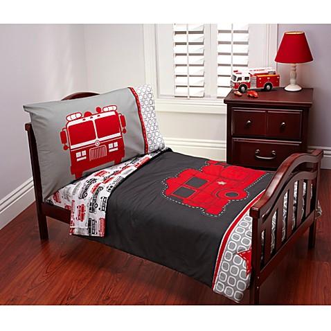 Carter S Fire Truck  Piece Toddler Bedding Set
