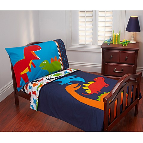Carter's® Prehistoric Pals 4-Piece Toddler Bedding Set