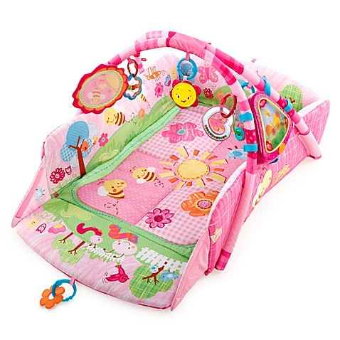 Bright Starts™ Pretty in Pink 5-in-1 Garden Fun Play Place™