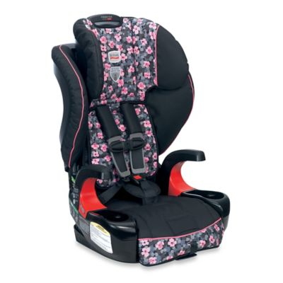 Britax Frontier 90 Combination Harness-2-Booster Car Seat in Cactus Flower