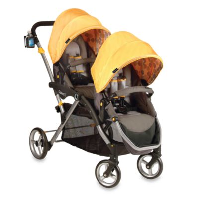 Double Strollers > Contours® Options LT Tandem Stroller in Valencia Gold