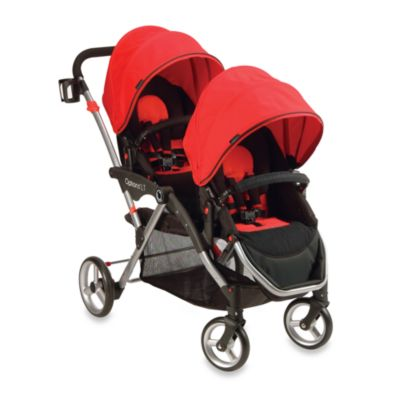Double Strollers > Contours® Options LT Tandem Stroller in Crimson Red