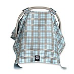 Balboa Baby® Car Seat Canopy in Blue Plaid