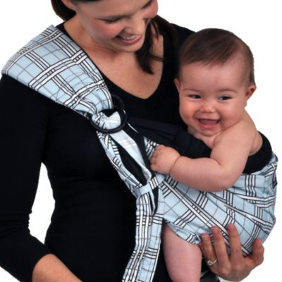 Dr. Sears Adjustable Sling by Balboa Baby® in Blue Plaid
