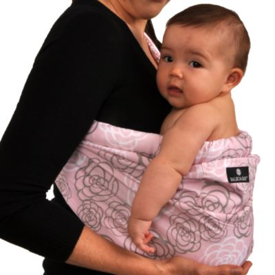 Dr. Sears Adjustable Sling by Balboa Baby® in Pink & Grey Camellia