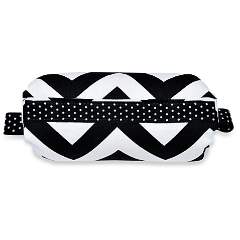 Padalily® Car Seat Handle Cushion in Dotty Zig Zag