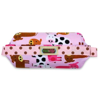 Padalily® Car Seat Handle Cushion in Pinky Moo