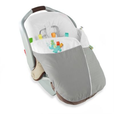 Taggies™ Snuggle & Stroll Carrier Blanket™ in Neutral