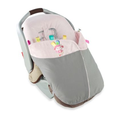 Taggies™ Snuggle & Stroll Carrier Blanket™ in Pink