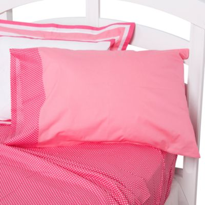 One Grace Place Simplicity Standard Pillow Case in Pink