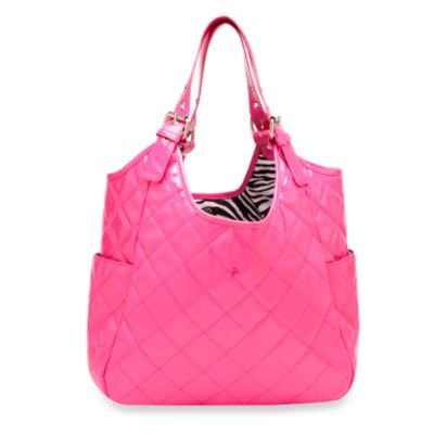 JP Lizzy Satchel Diaper Bag in Watermelon