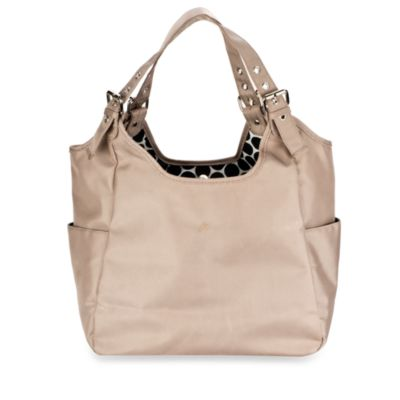 JP Lizzy Satchel Diaper Bag in Sandstone