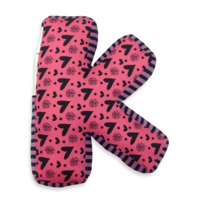 "One Grace Place Sassy Letter ""K"" Pillow"
