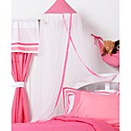 One Grace Place Mesh Simplicity Canopy in Hot Pink