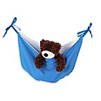 One Grace Place Simplicity Reversible Toy Bag in Blue