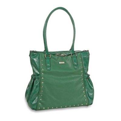 Kenneth Cole Reaction® Brook Street Tote Diaper Bag in Green Pebble