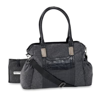 Kenneth Cole® Brook Street Tote Diaper Bag in Grey Flannel