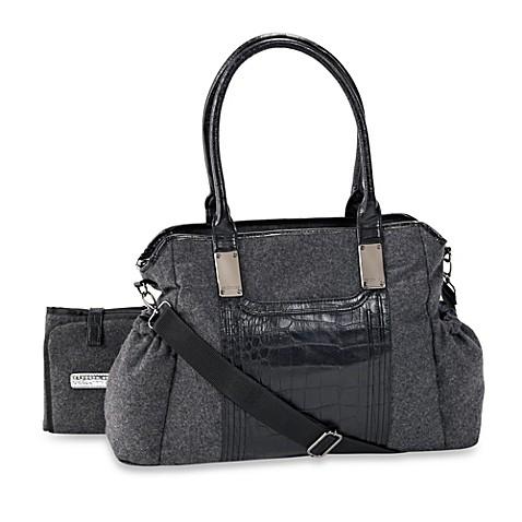 kenneth cole brook street tote diaper bag in grey flannel buybuy baby. Black Bedroom Furniture Sets. Home Design Ideas
