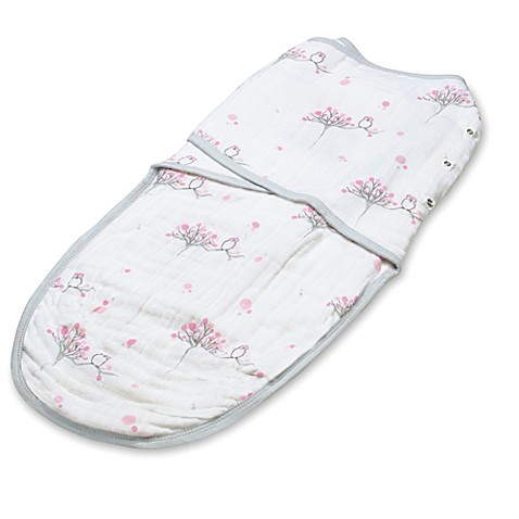 aden + anais® Large Easy Swaddle™ in For The Birds Owl