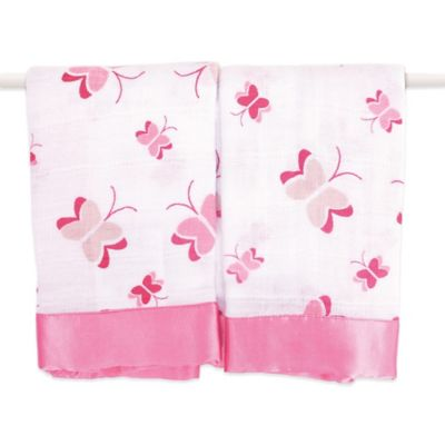 aden + anais® Classic Issie® Security Blankets in Nay Nay Butterfly