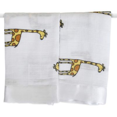 aden + anais® Classic Issie® Security Blankets in Duke Giraffe