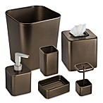 Gia Bath Waste Basket in Bronze