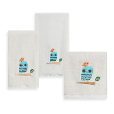 Give A Hoot Printed Wash Towel