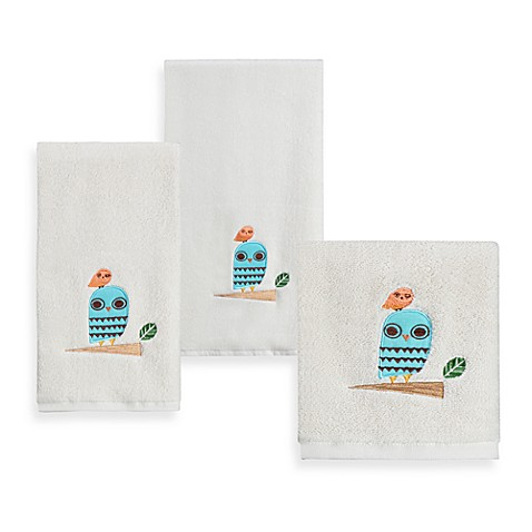 Give A Hoot Printed Hand Towel
