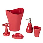 Umbra® Curvino Waste Basket in Azalea