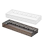 Steel Lace Toilet Tank Tray