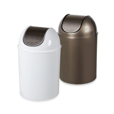 Umbra® Flip Champ 2.5-Gallon Wastebaskets