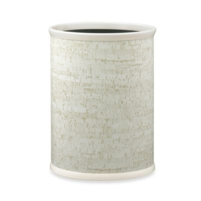 Kraftware™ Stucco Cork Metal Wastebasket