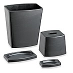 Kraftware™ My Earth 4-Piece Black Recycled Plant Fiber Bathroom Set