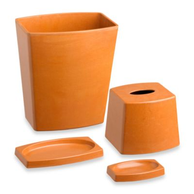 Kraftware™ My Earth 4-Piece Recycled Plant Fiber Apricot Bathroom Set