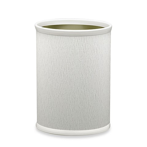 Kraftware™ Artic Birch Metal Wastebasket
