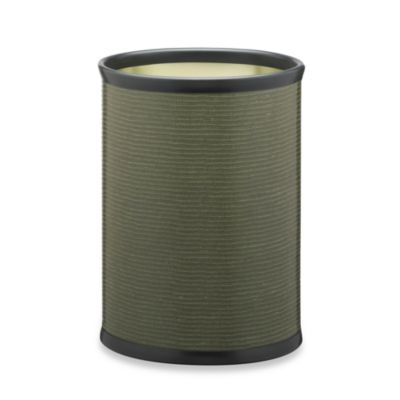 Kraftware™ Liz Wastebasket in Metal Green