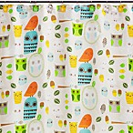 Creative Bath Give A Hoot Cotton Shower Curtain