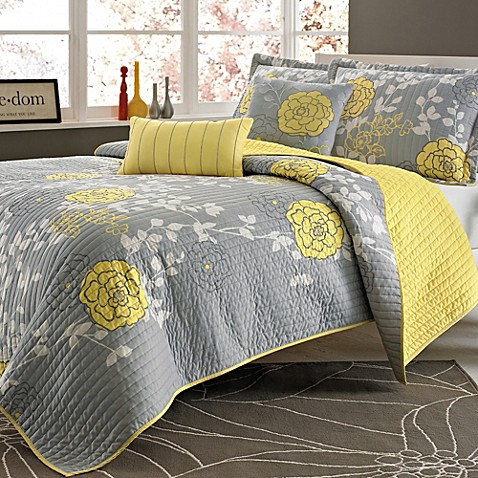 Ella 4-Piece Full/Queen Quilt Set