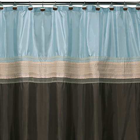 Buy Shower Curtains for a Brown Bathroom from Bed Bath & Beyond
