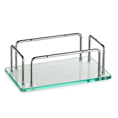 Taymor® Glass Hand Towel Tray With Rails