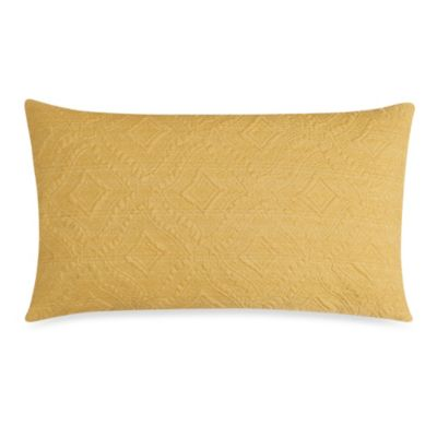 Ashbury Oblong Toss Pillow in Yellow