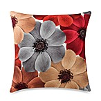 Bess Red Square Toss Pillow