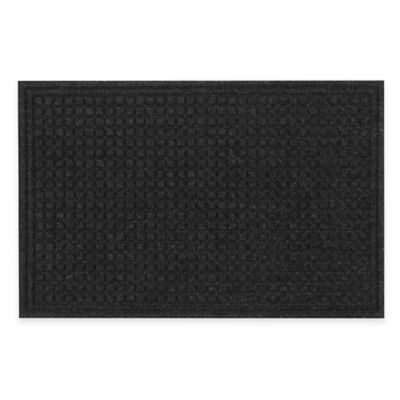 Tire Tuff™ Textures Squares Door Mat in Onyx
