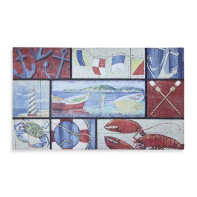 Mohawk Home N Is For Nautical Doormat