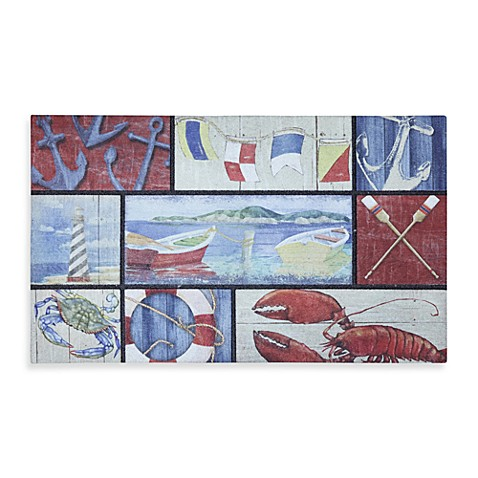 Mohawk Home N Is For Nautical Door Mat Bed Bath Amp Beyond