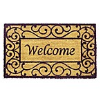 Scroll Welcome Doormat