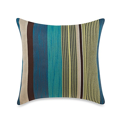 Alameda Cool Stripe Square Toss Pillow