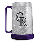 Colorado Rockies 16-Ounce Team Logo Freezer Mug