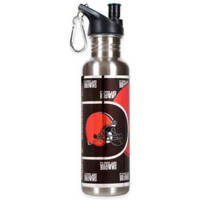 Cleveland Browns 26-Ounce Stainless Steel Water Bottle