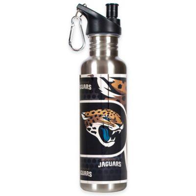 Jacksonville Jaguars 26-Ounce Stainless Steel Water Bottle